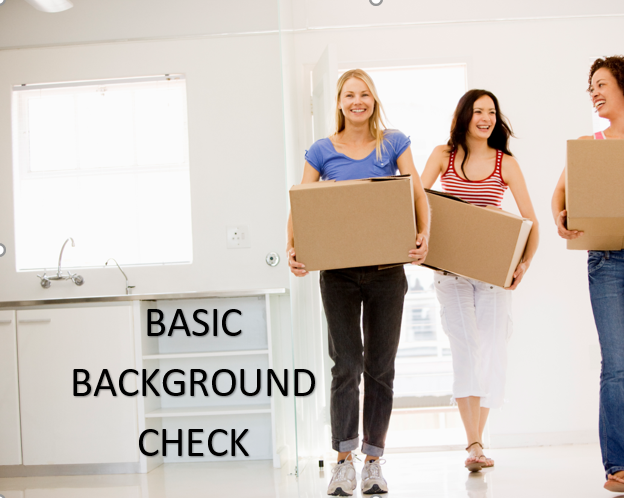 Basic Incoming Tenant Background Check